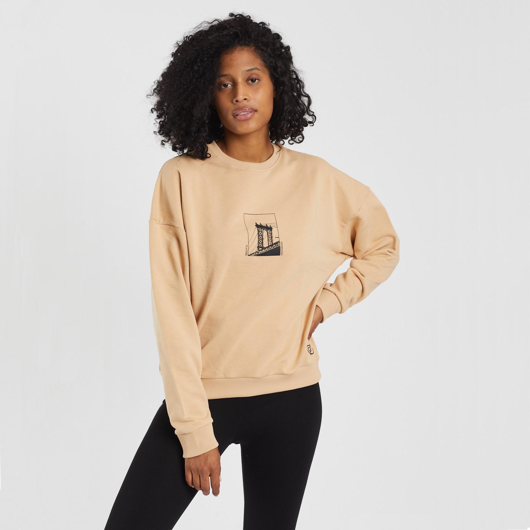 Lean Against The Sky Unisex Sweatshirt