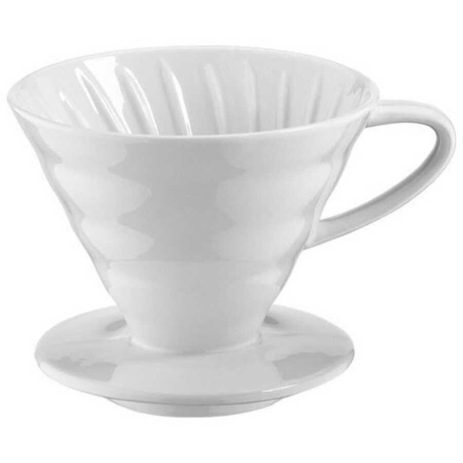 V60 02 Dripper Beyaz - Porselen