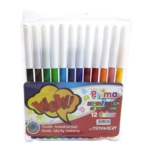 Prima 12 Renk Keçeli Kalem