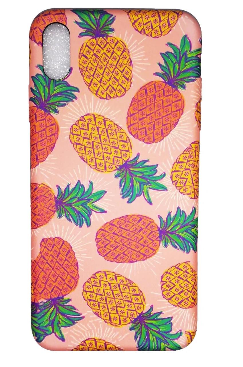 Iphone XS Max Ananas Tasarımlı Kılıf