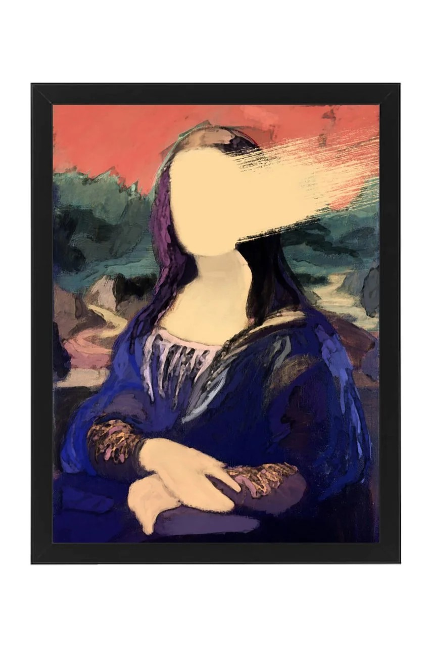 Mona Lisa Özel Tasarım 30x40 Tablo
