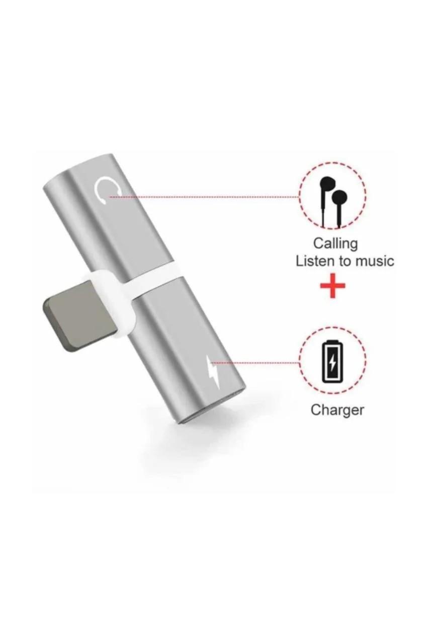 Multi Function Connector Iphone Şarj ve Kulaklık Soketi
