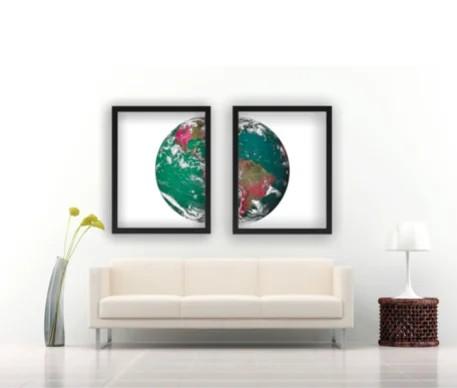 Earth Tablo 30x40