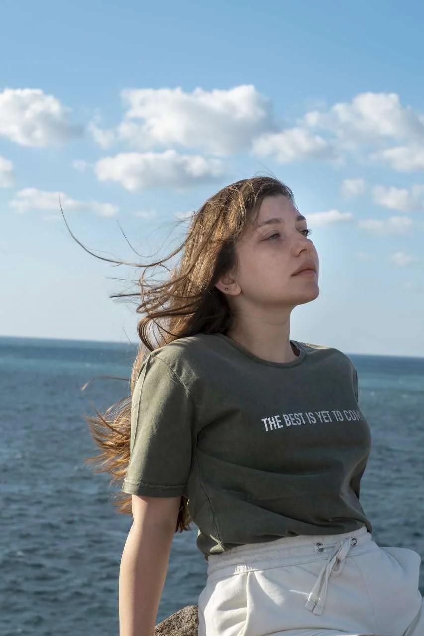 The Best Kadın T-Shirt