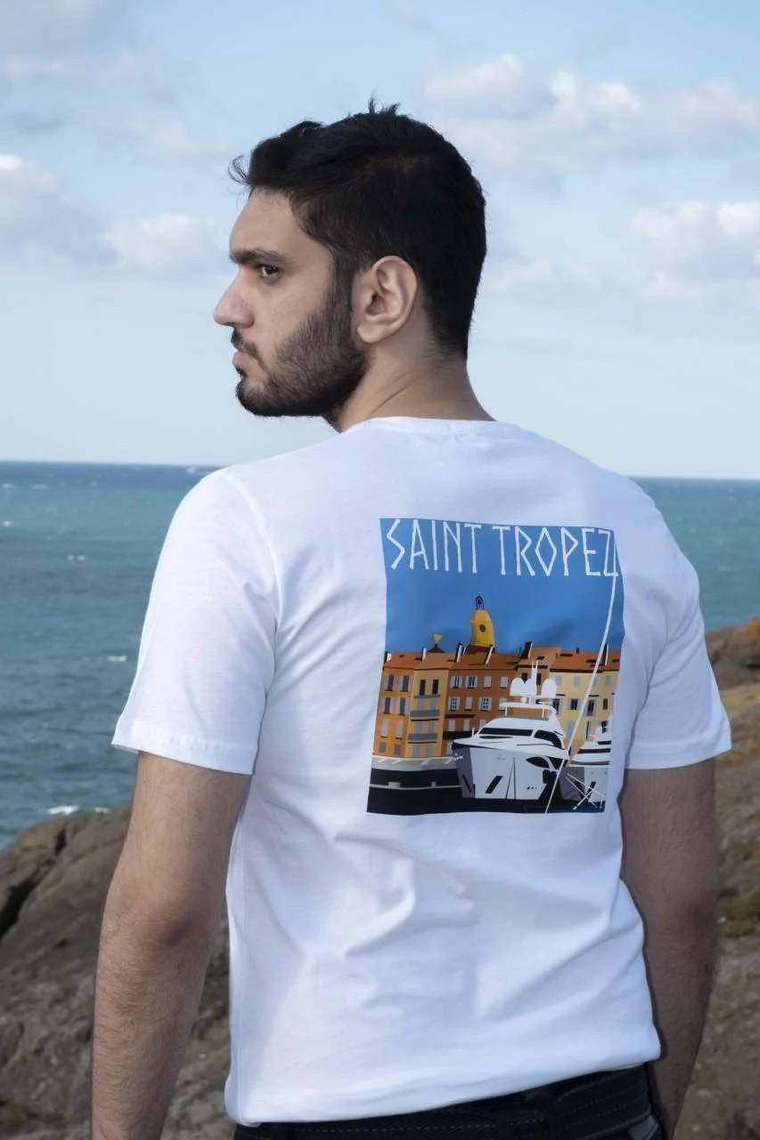 Saint Tropez Erkek T-Shirt