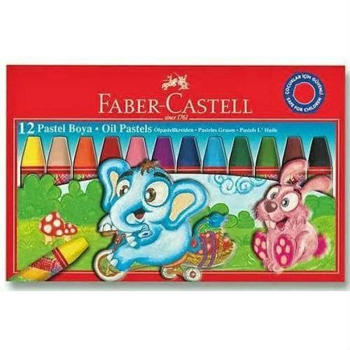 Faber Castell Pastel Boya 12'li Karton Kutu