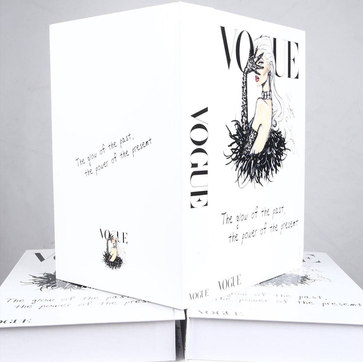 Vogue Dekoratif Kitap Kutusu