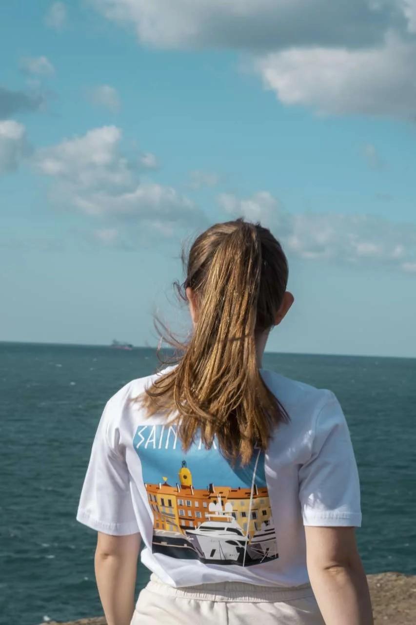 Saint Tropez Kadın T-Shirt