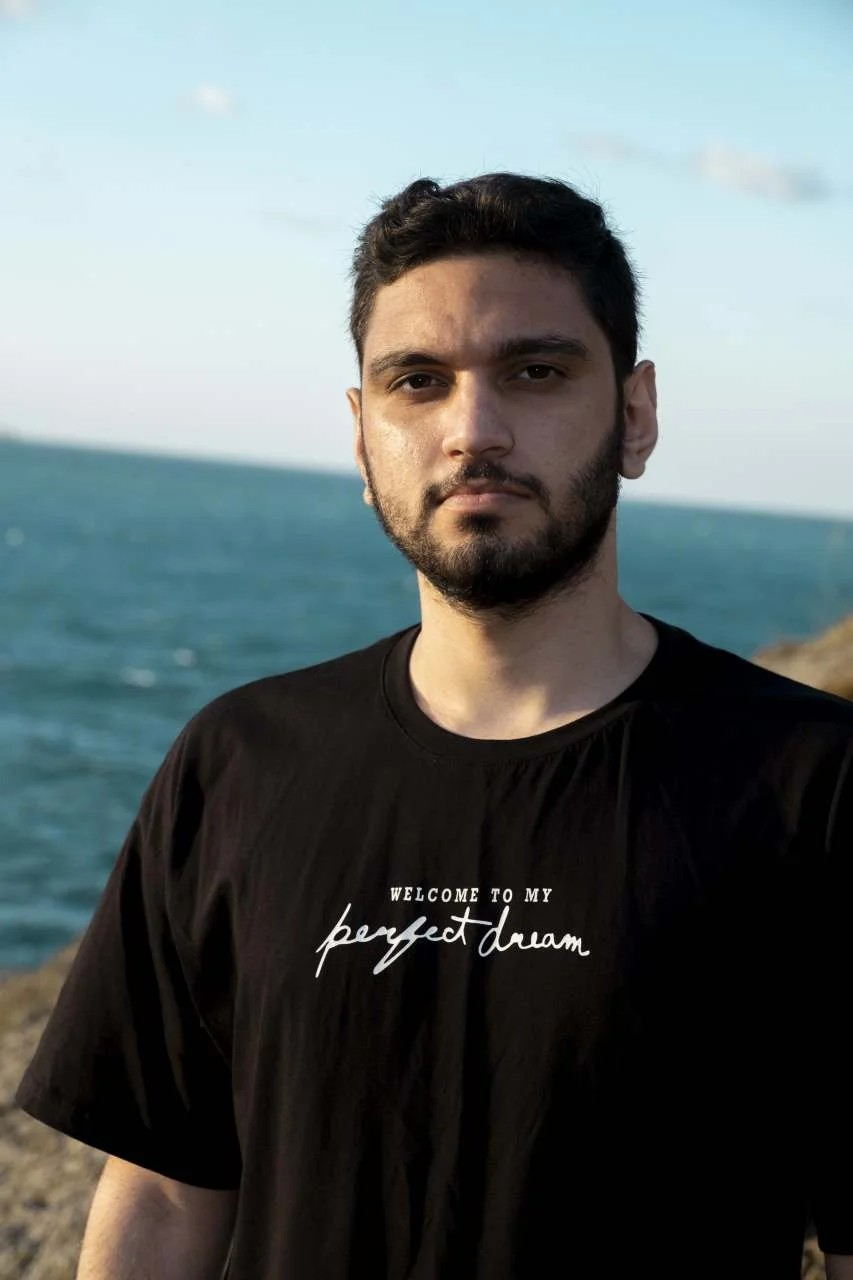My Perfect Dream Oversize Erkek Siyah T-Shirt
