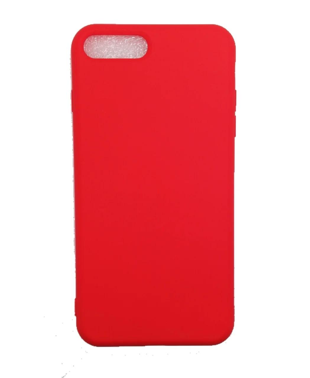 Iphone 7-8 Plus Nano Silikon Kırmızı Kılıf