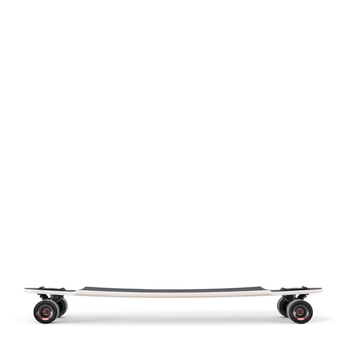 Landyachtz Drop Hammer White Pinecone Complete Longboard 120CP-FRDHPNCWH