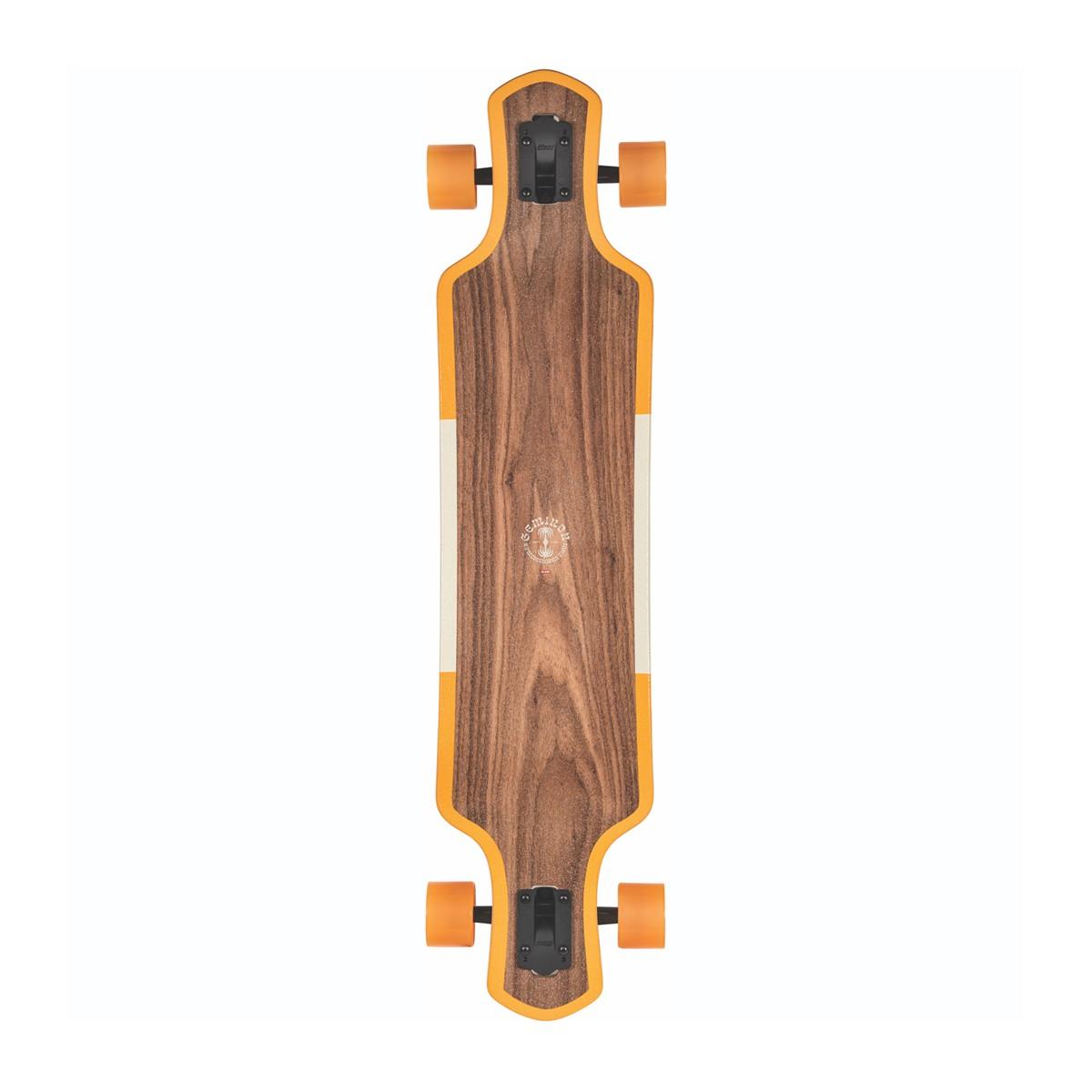 Globe Geminon 40 Rock Walnut/Monstera Complete Longboard 10525395