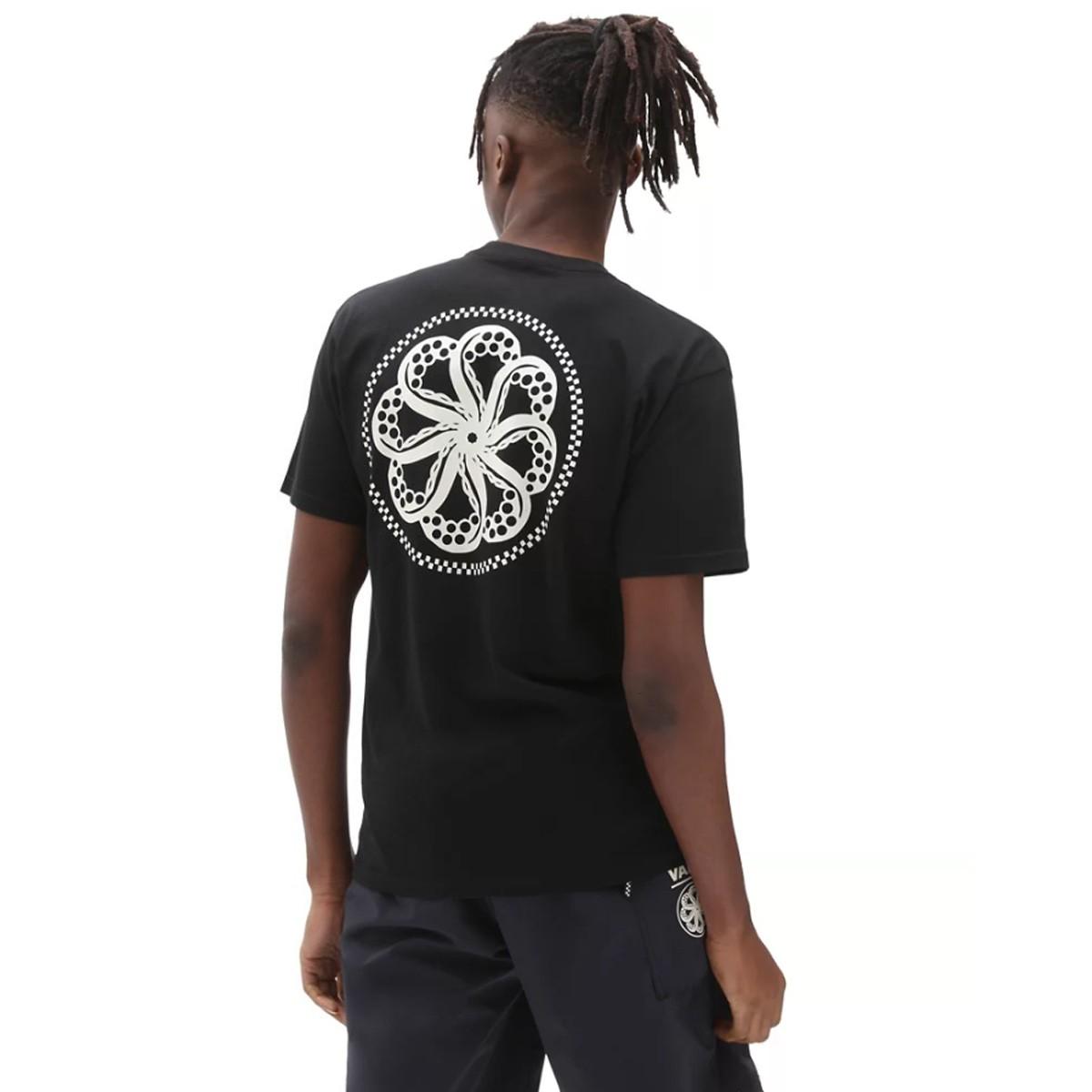 Vans x Octopus Black T-Shirt VN0A5KCYBLK1