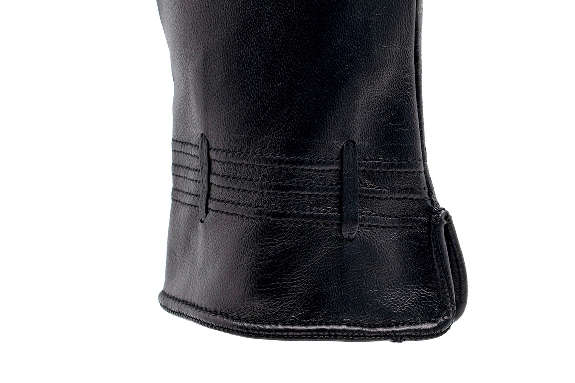 Recinto Kadın Deri Eldiven (Siyah)