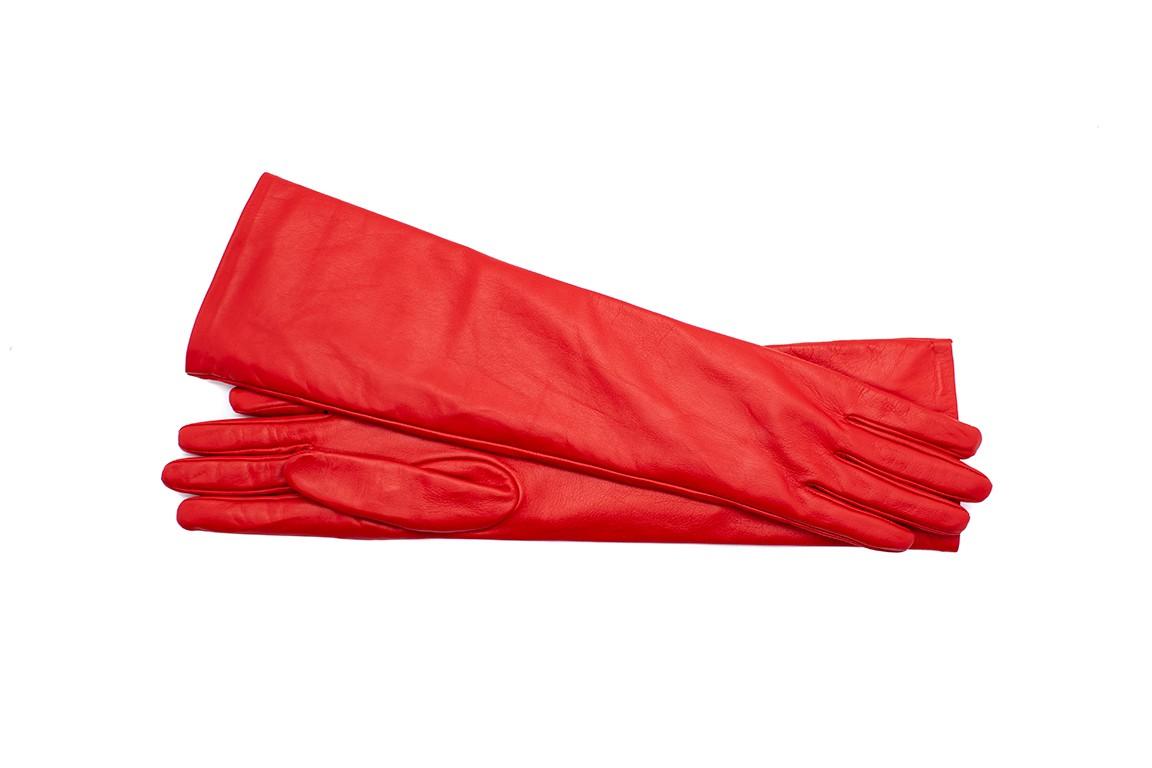 Lunghetta Uzun 45 cm Kadın Deri Eldiven