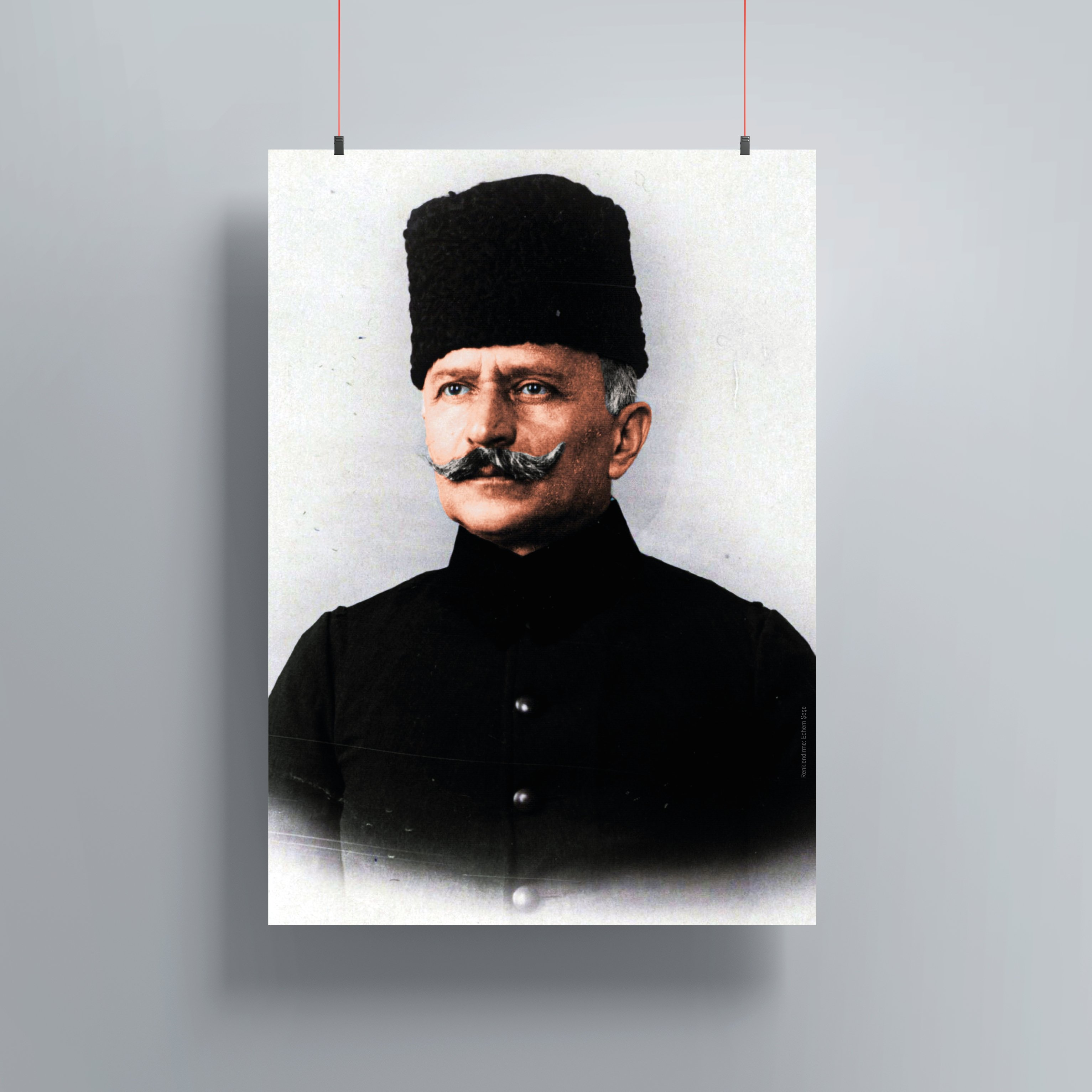 Fahreddin Paşa Renklendirme Poster