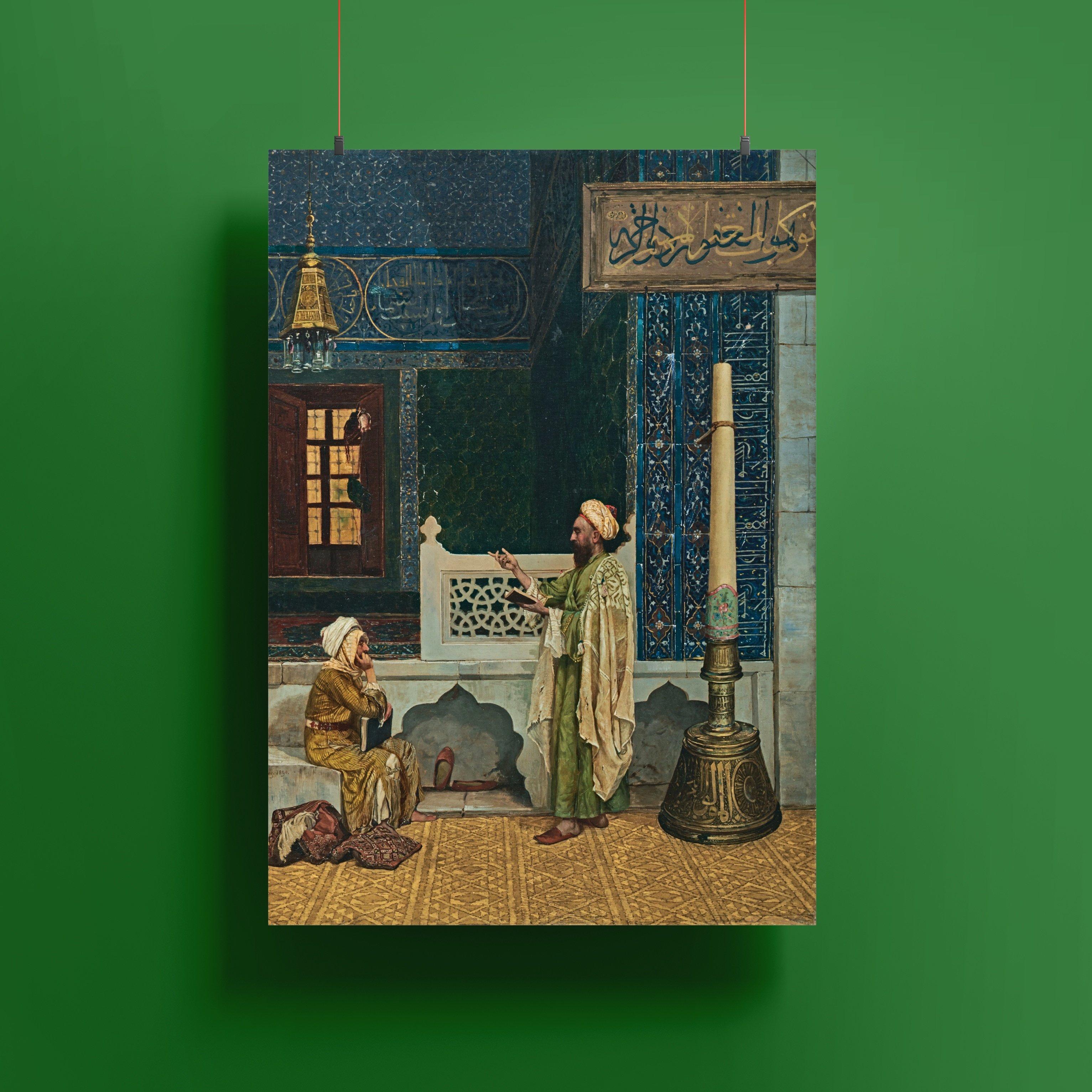 Yeşil Cami'de Kuran Dersi Posteri