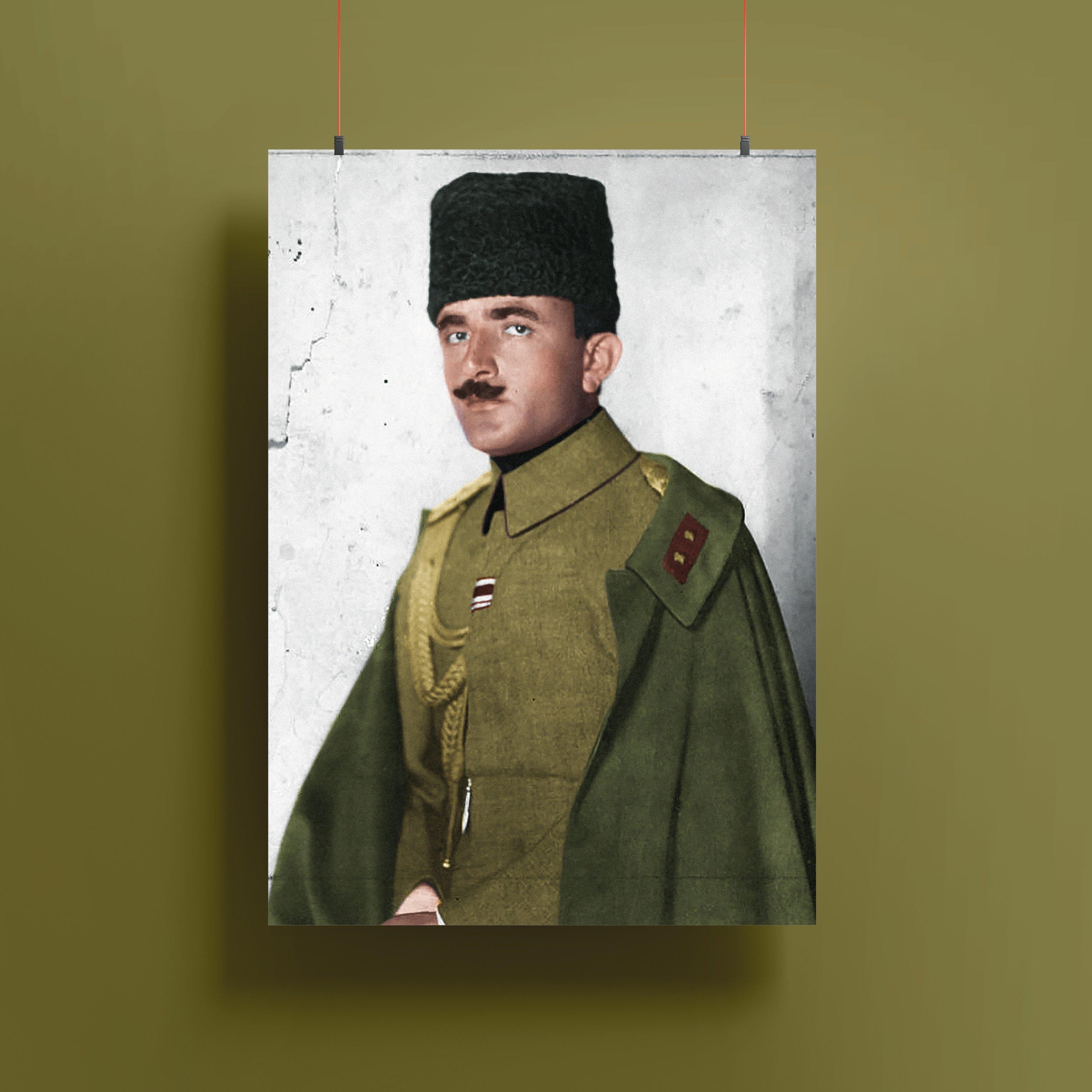 Enver Paşa Renklendirme Poster - 2