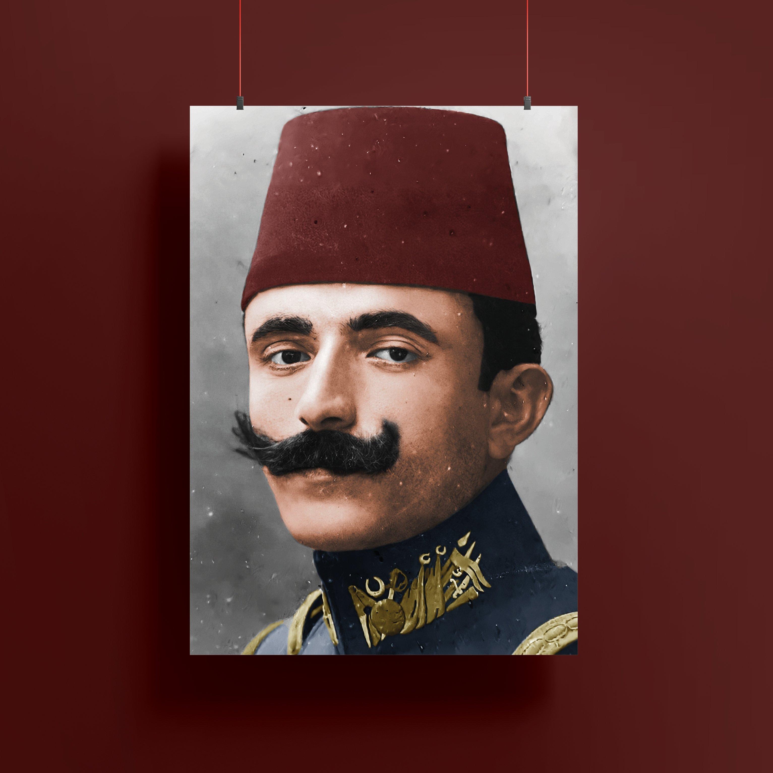 Enver Paşa Renklendirme Poster