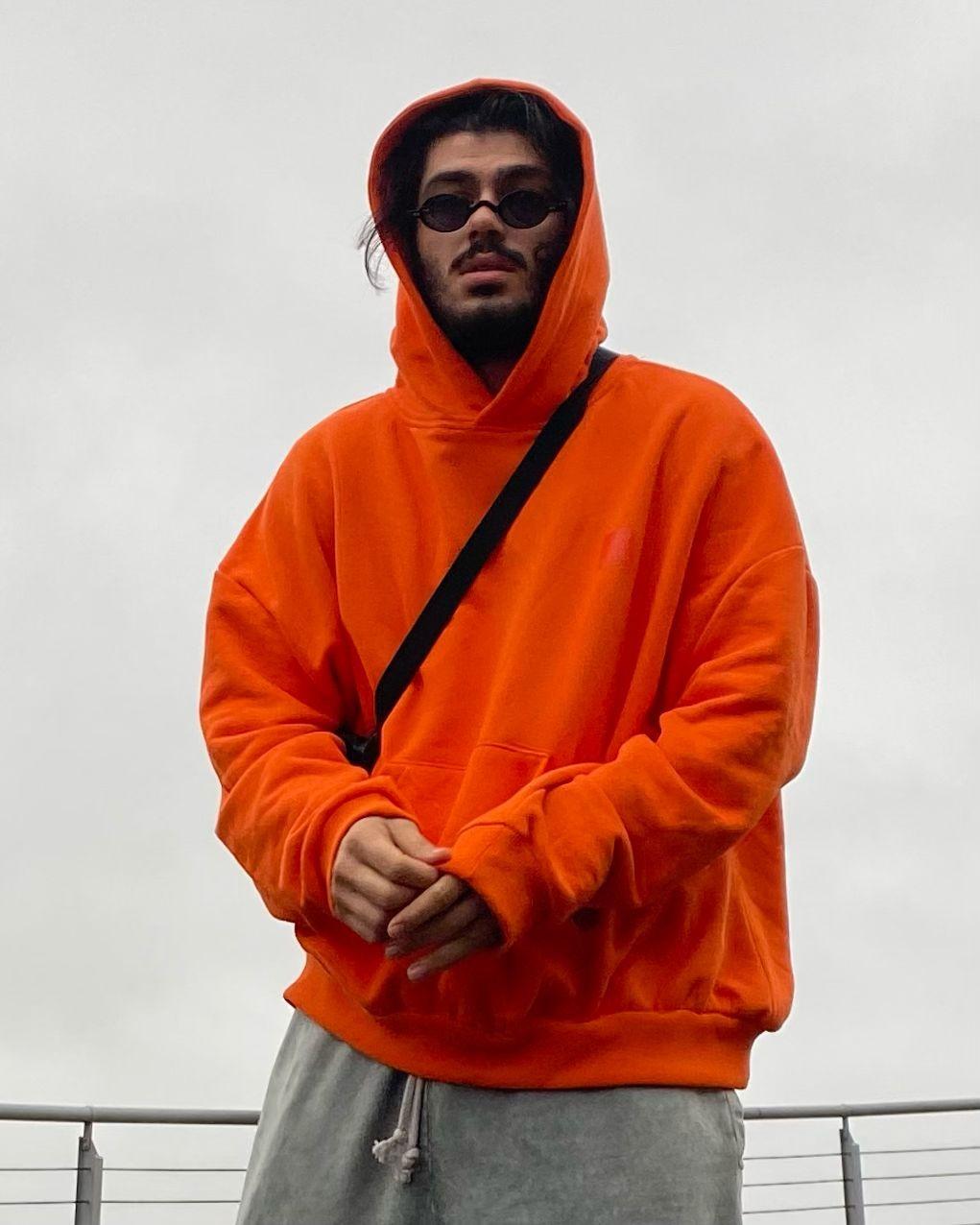 Karo Kauer Orange Hoodie (SKAR1)