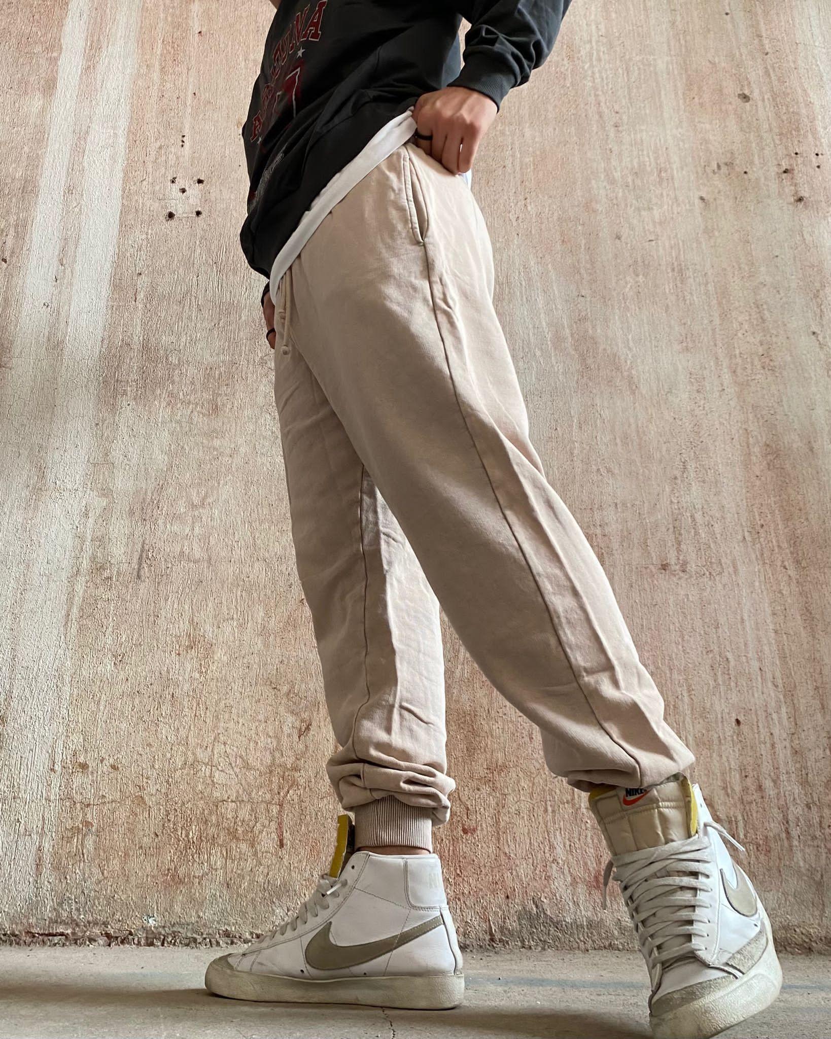 Reserved Beige Sweatpants (SRES3)