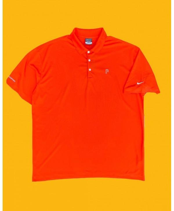 Nike 00s Orange Golf Polo T Shirt (XXL)