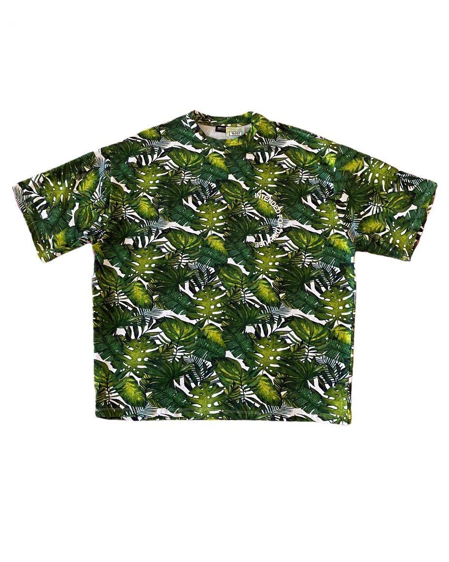 A. Design Leafs Oversize T Shirt (SAS11)