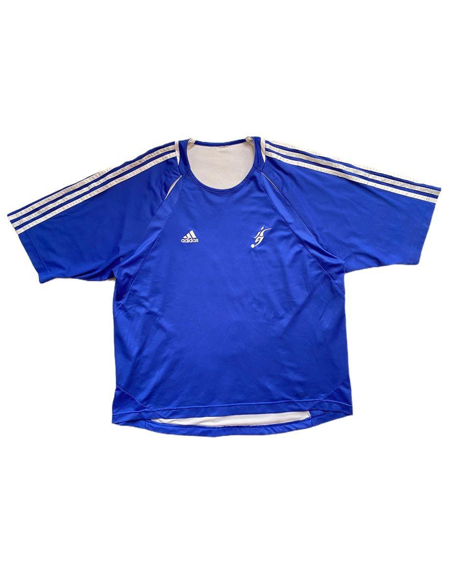 Adidas 00's Vintage Blue T Shirt (M)