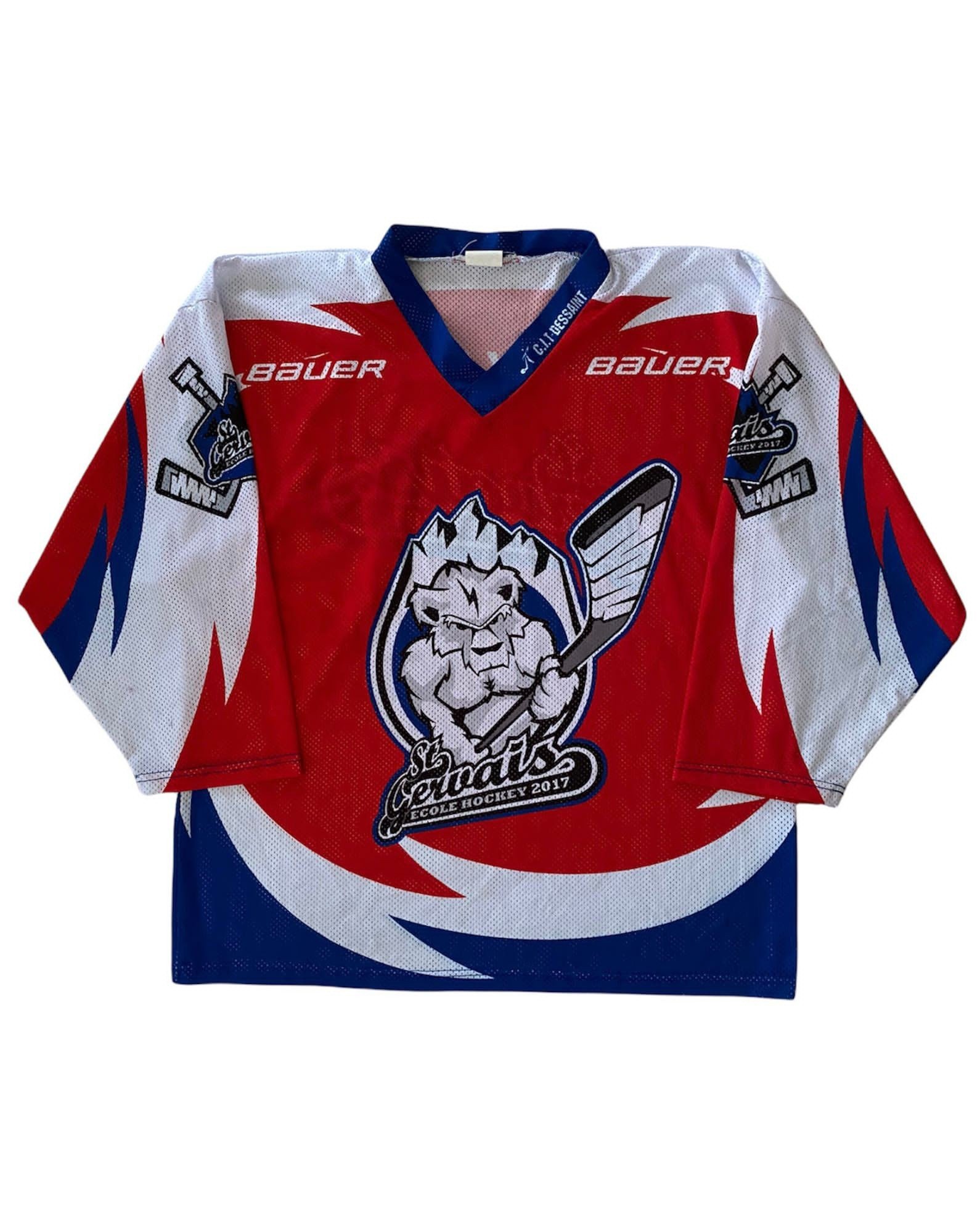 St Gervais Eagle Hockey Jersey (M)