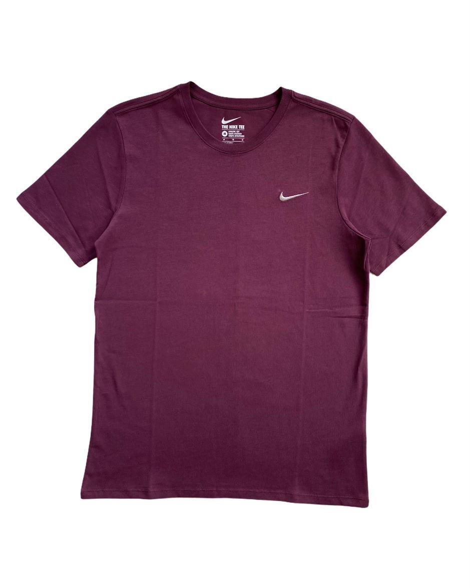 N. Swoosh Logo Bordo T Shirt(SNI10)