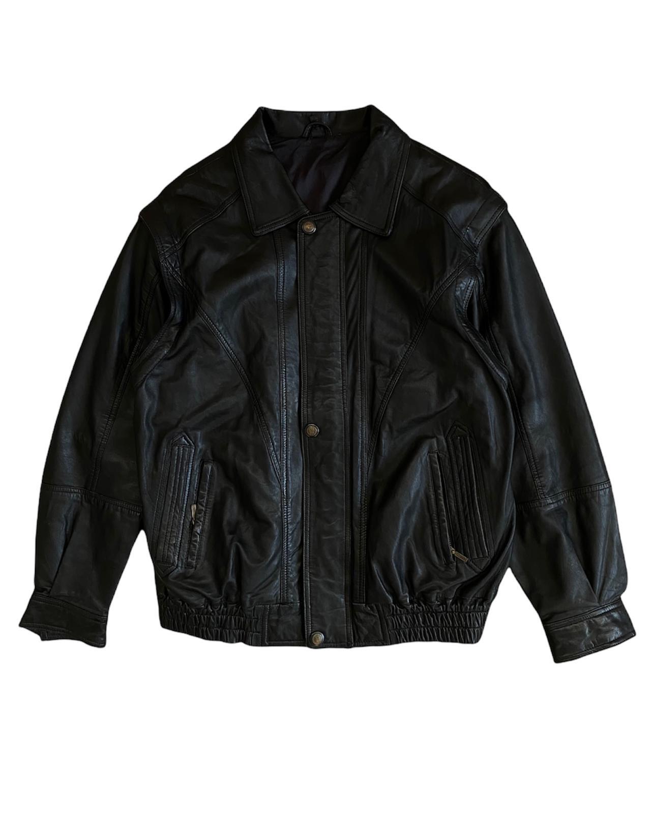 Black Line 80's Vintage Deri Mont (XL)