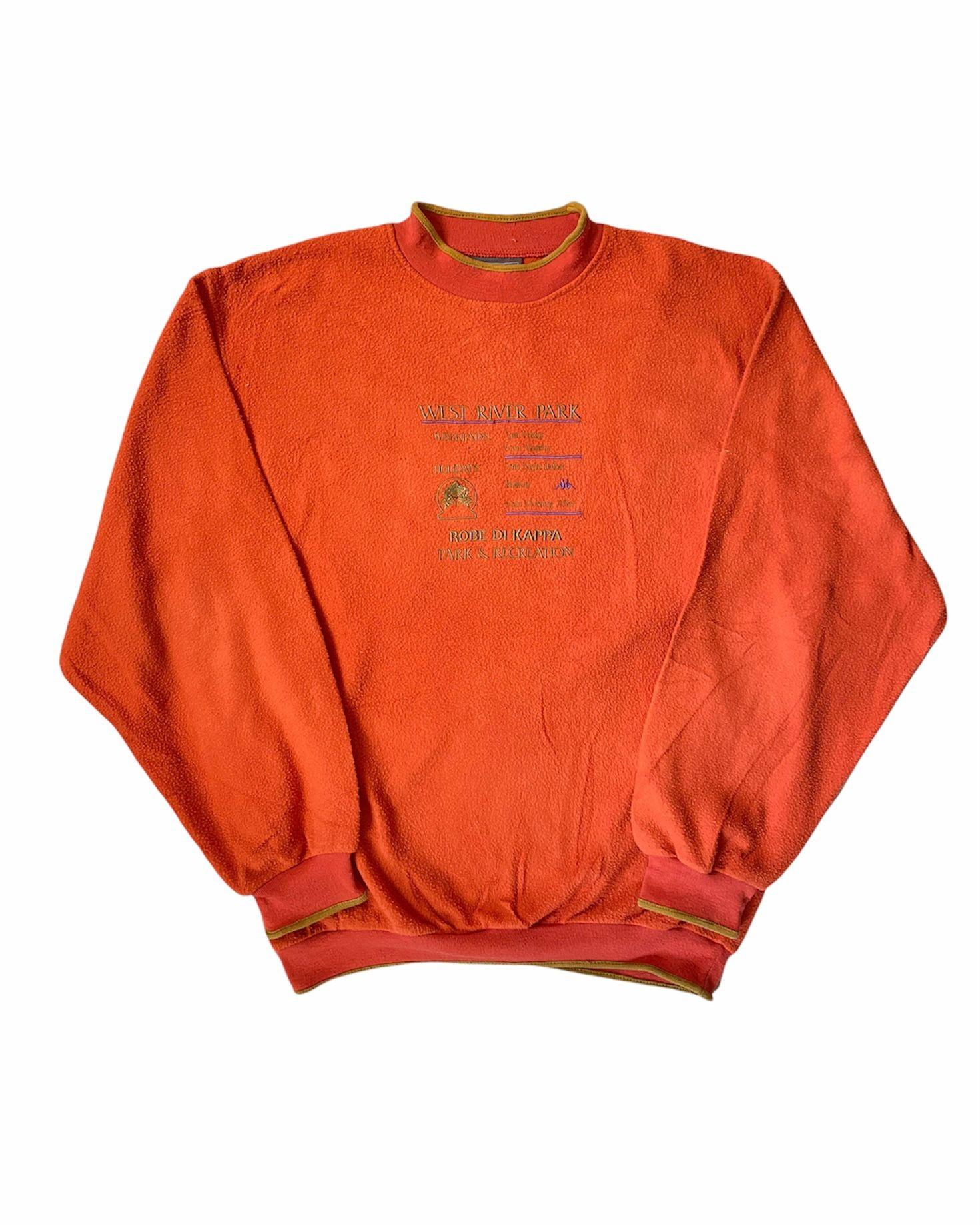 Kappa 90's Vintage Fleece Sweatshirt (L)