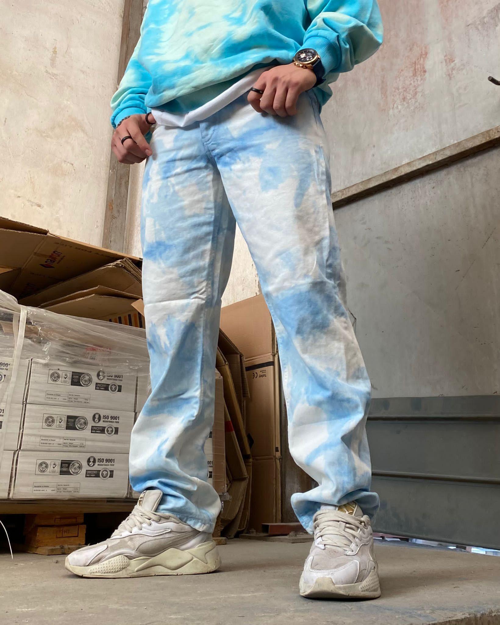 A. Design Cloud Tie Dye Jean (SMA11)