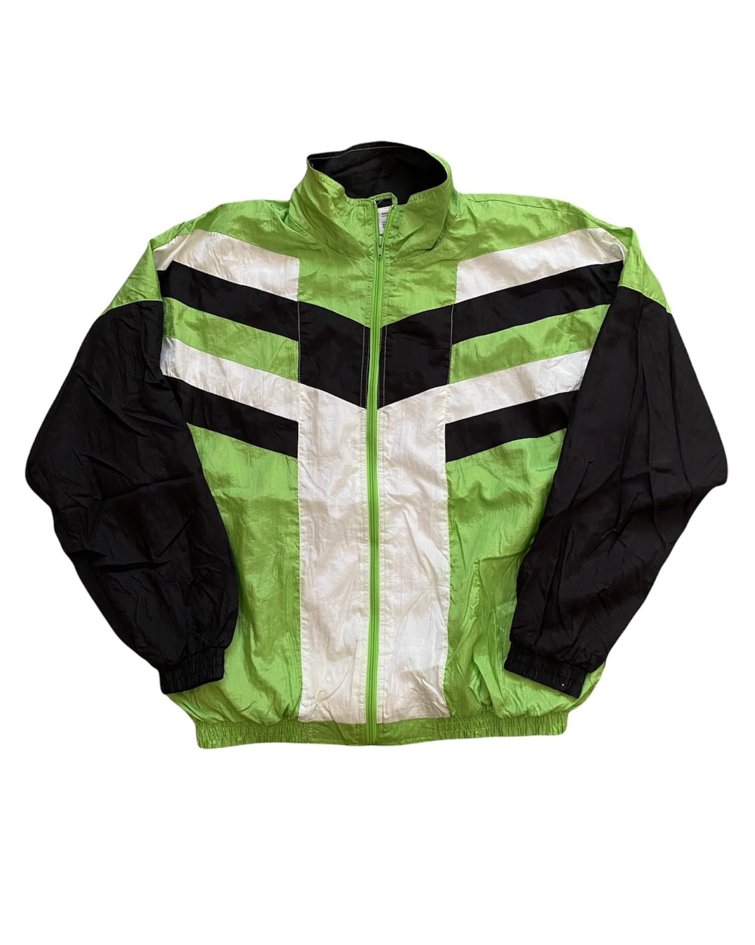Green Black 90's Vintage Ceket (XL)