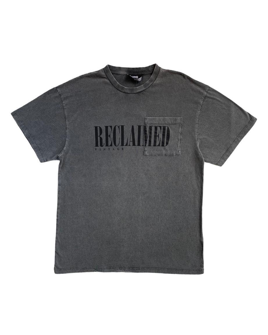 R. Vintage Wash Grey T Shirt (SRE1)