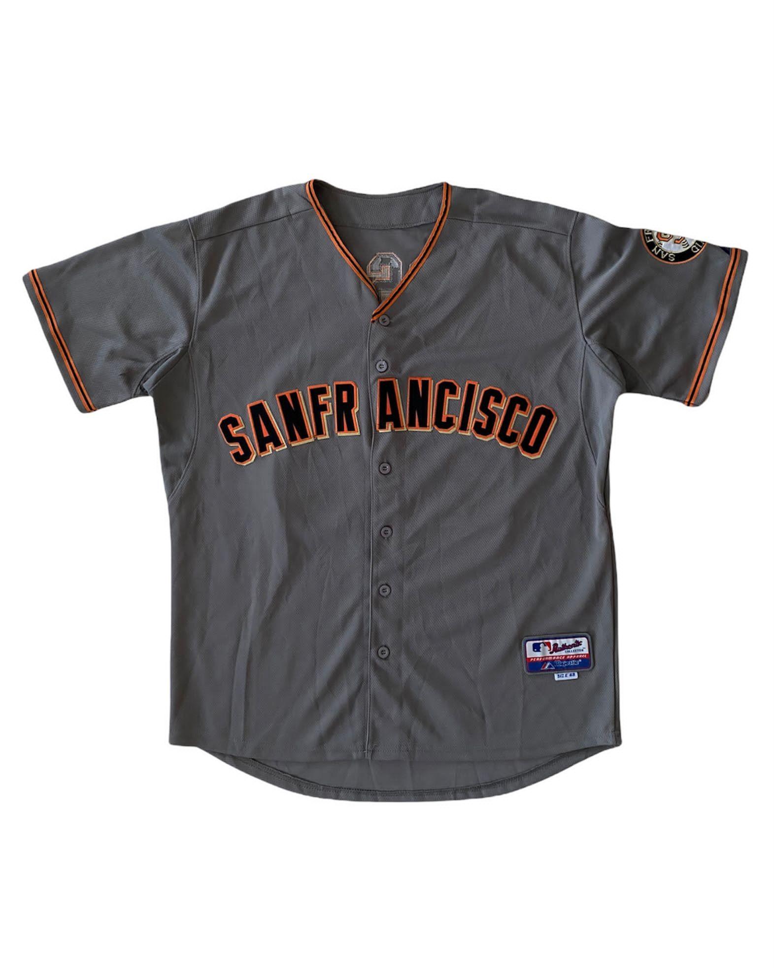 Majestic MLB Sanfrancisco Jersey Shirt (L)