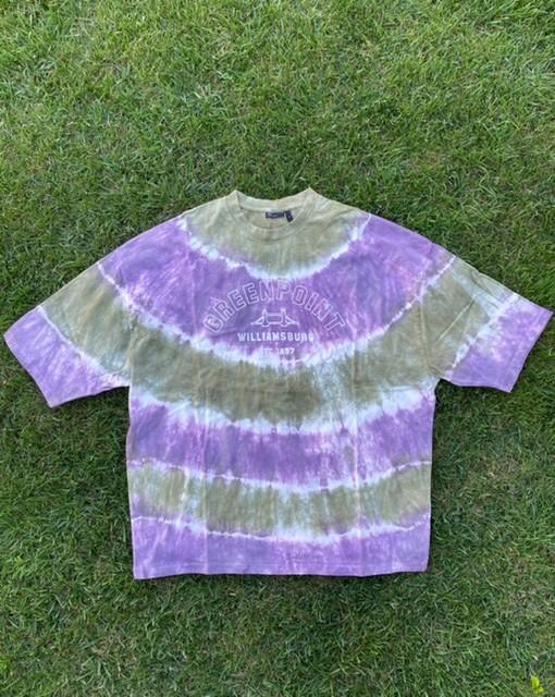 A. Design Green Point Tie Dye T Shirt (SAS36)