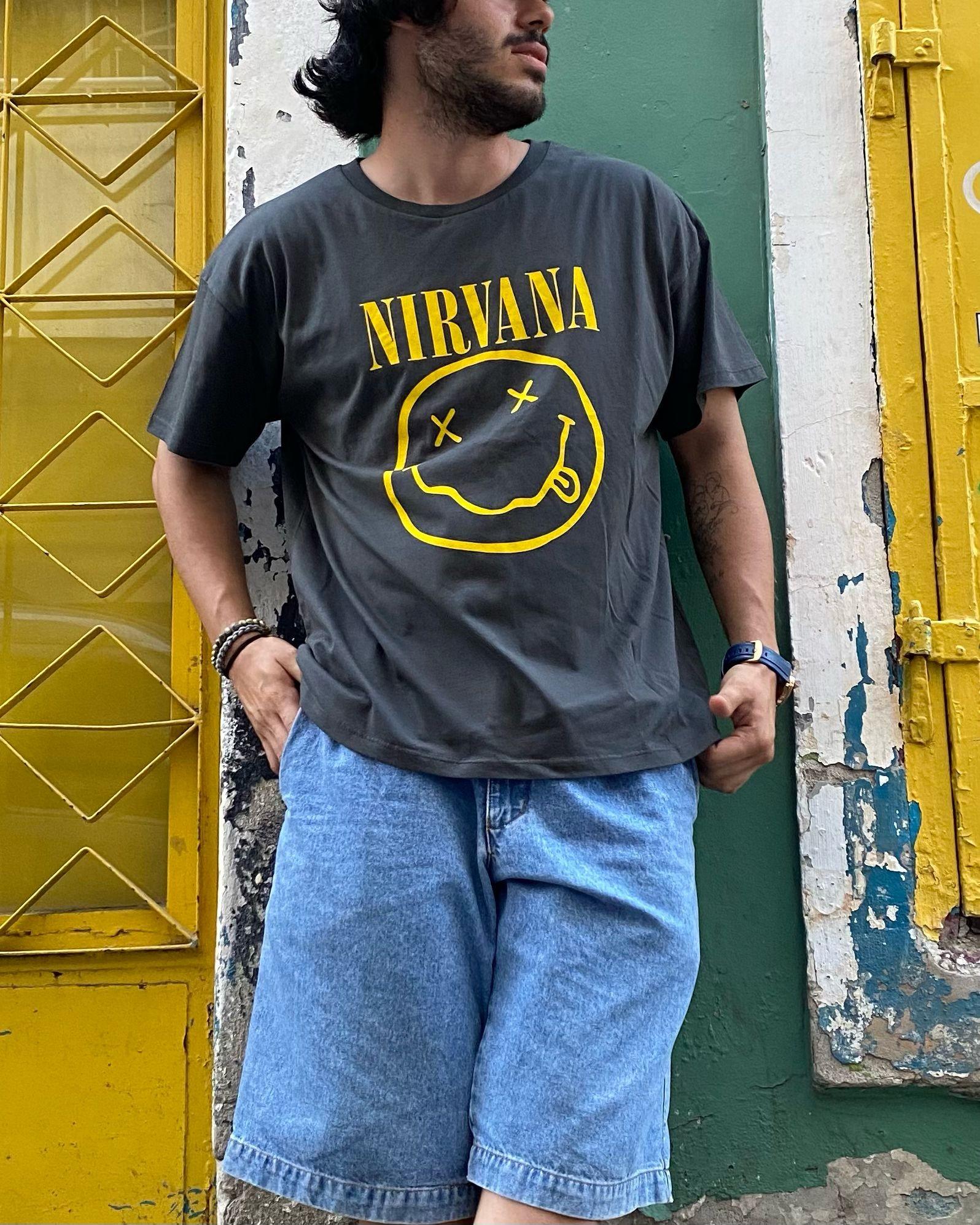 A. Design X Nirvana T Shirt (SAS10)