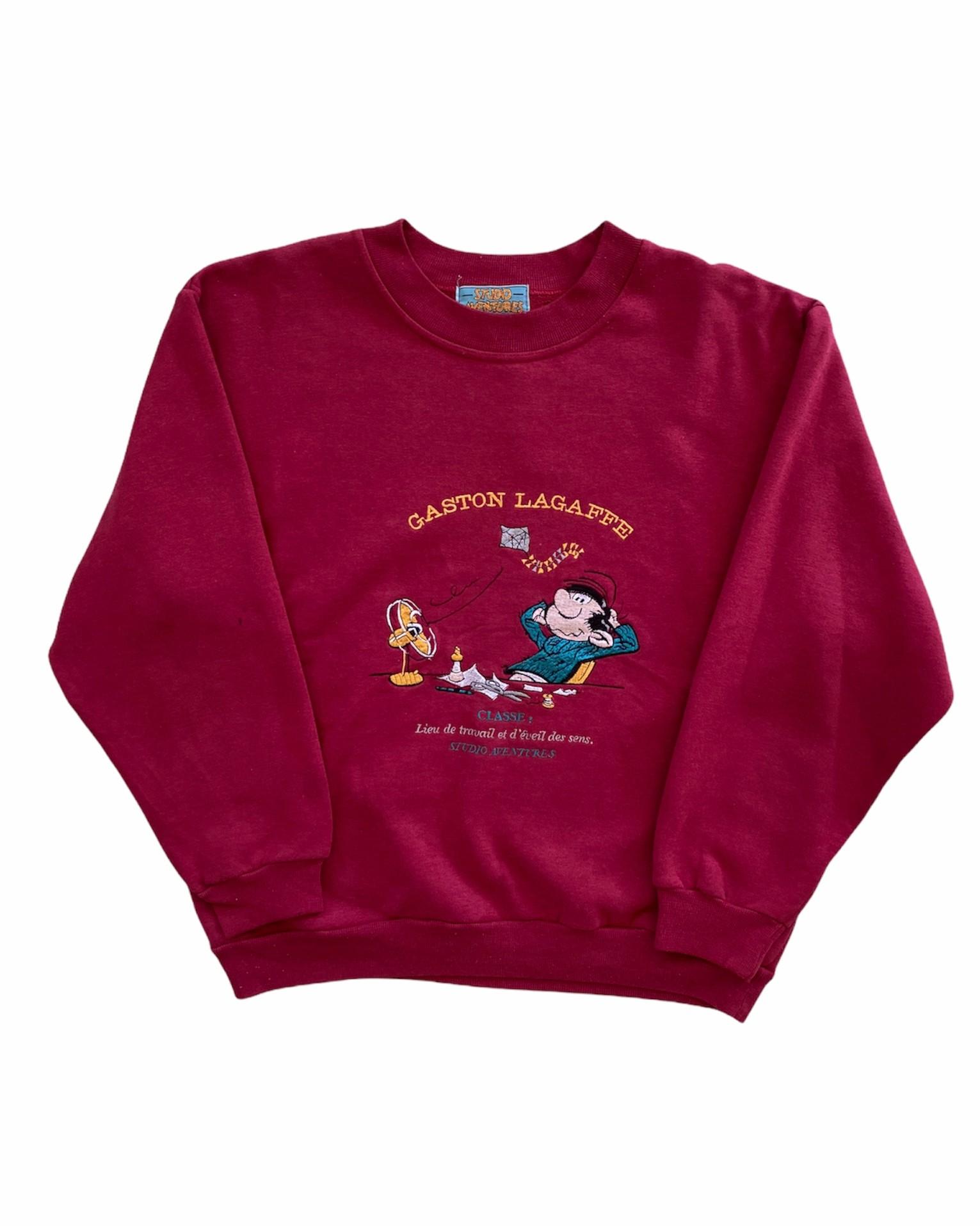 Gaston Lagaffe 1999 Vintage Sweatshirt (S)