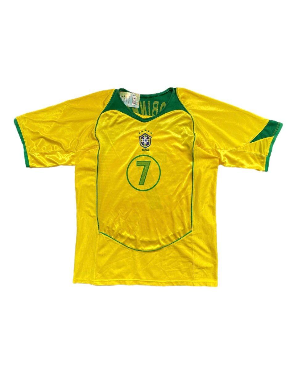 Brezilya 2004-2006 Home Jersey (XL)
