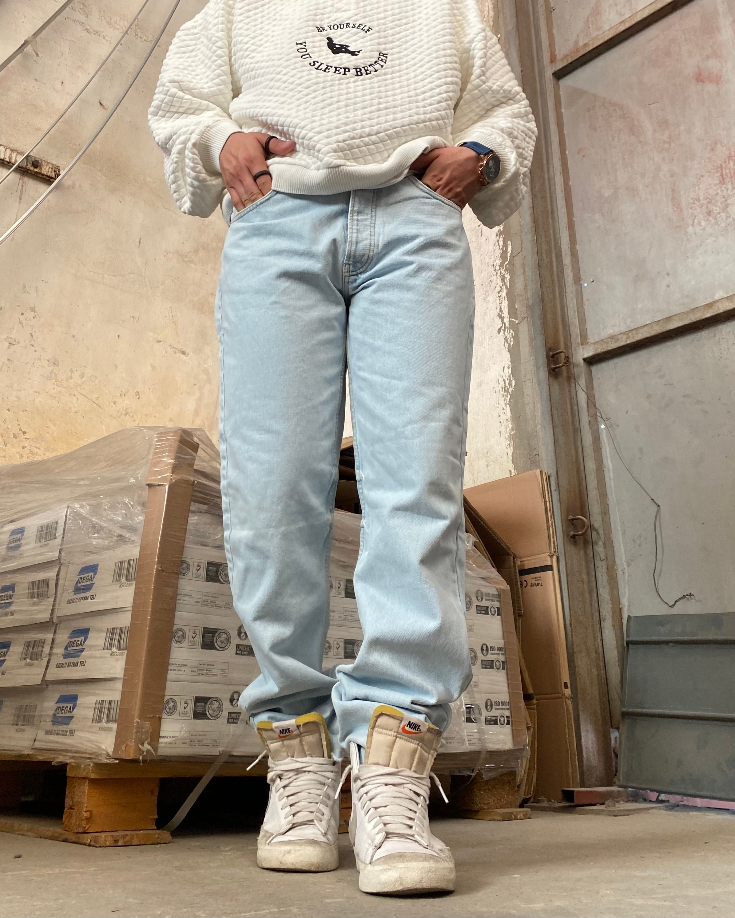 Boohoo Relaxed Fit Jean (SMA4)