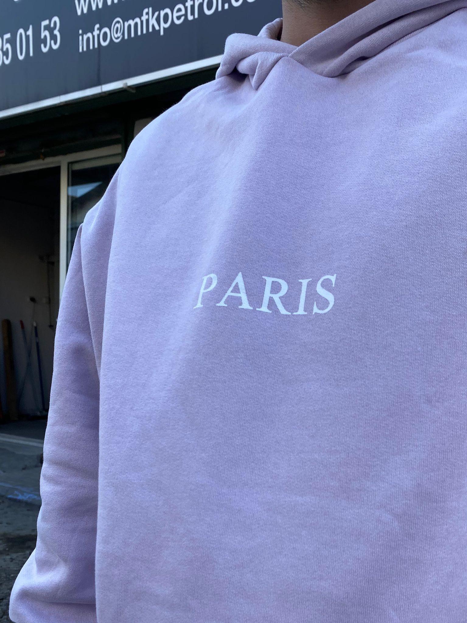 A. Design Oversize Paris Hoodie (SAS48)