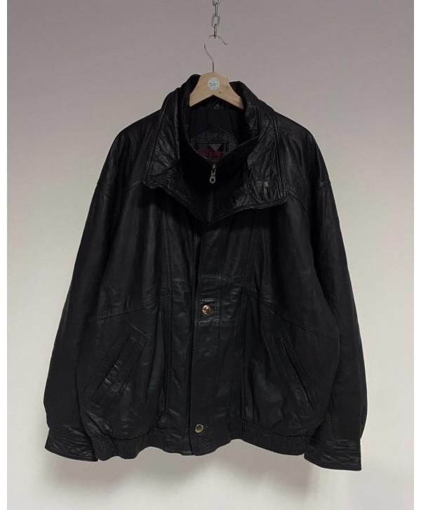 Mflues 80s Vintage Deri Ceket (XXL)