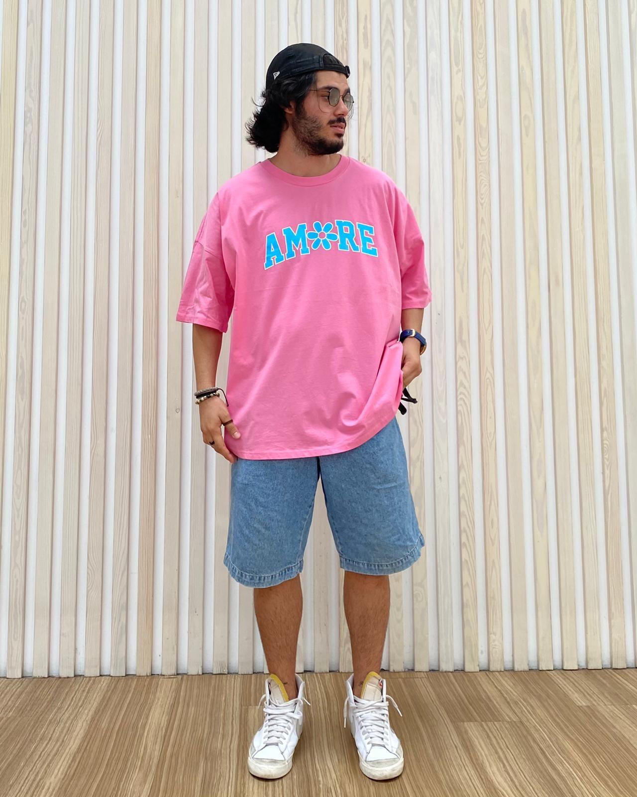 A. Design Amore Oversize T Shirt (SAS32)