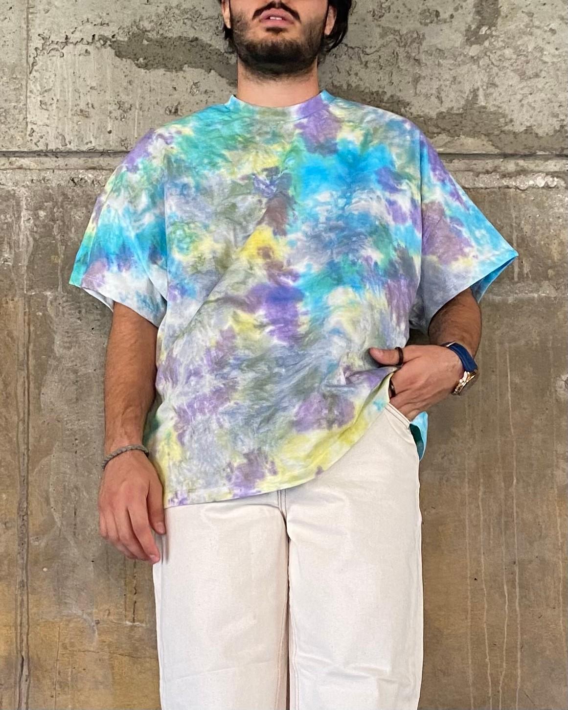 A. Design Mix Colorful Tie Dye T Shirt (SAS40)