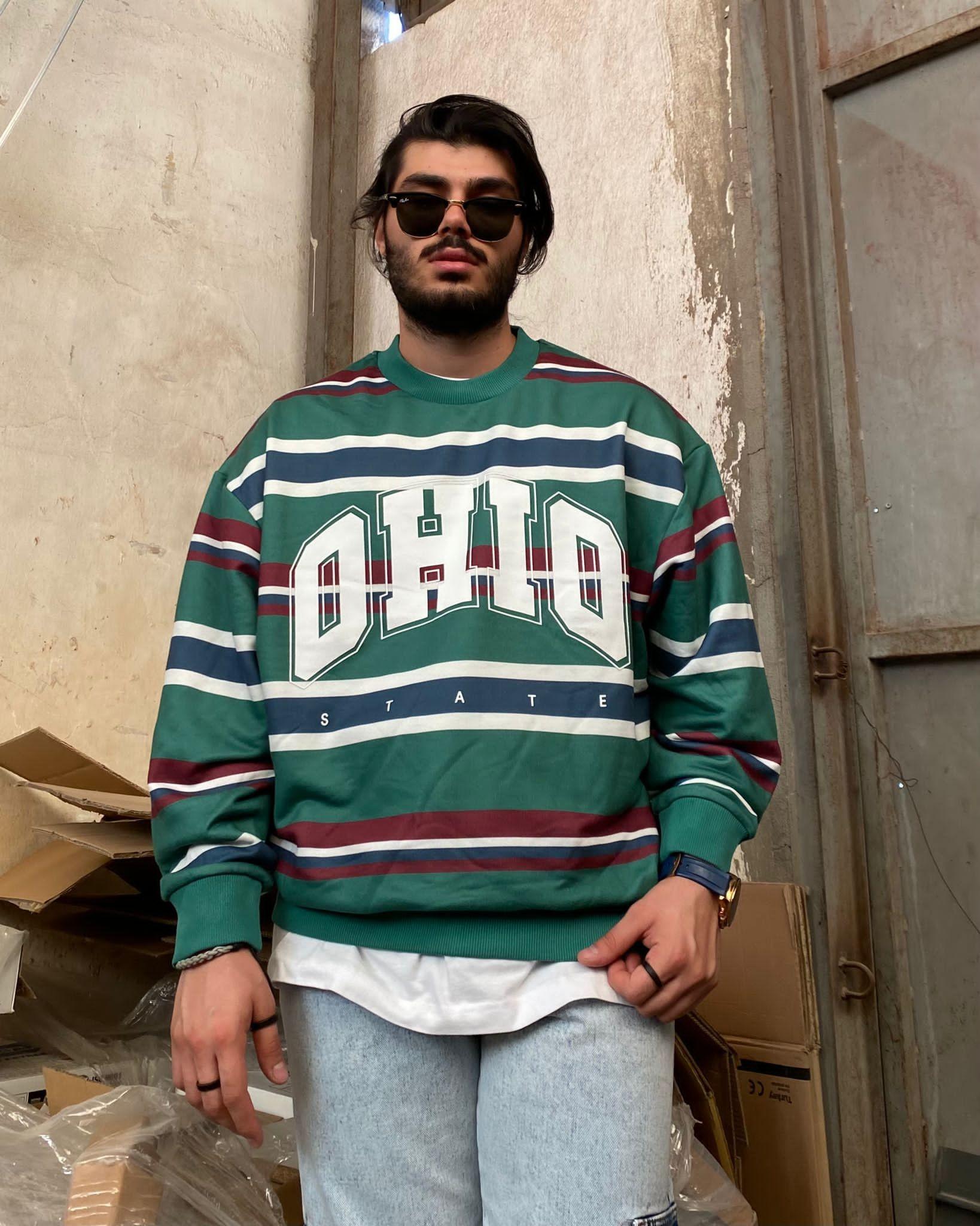 Ohio State Oversize Sweatshirt (SAS57)