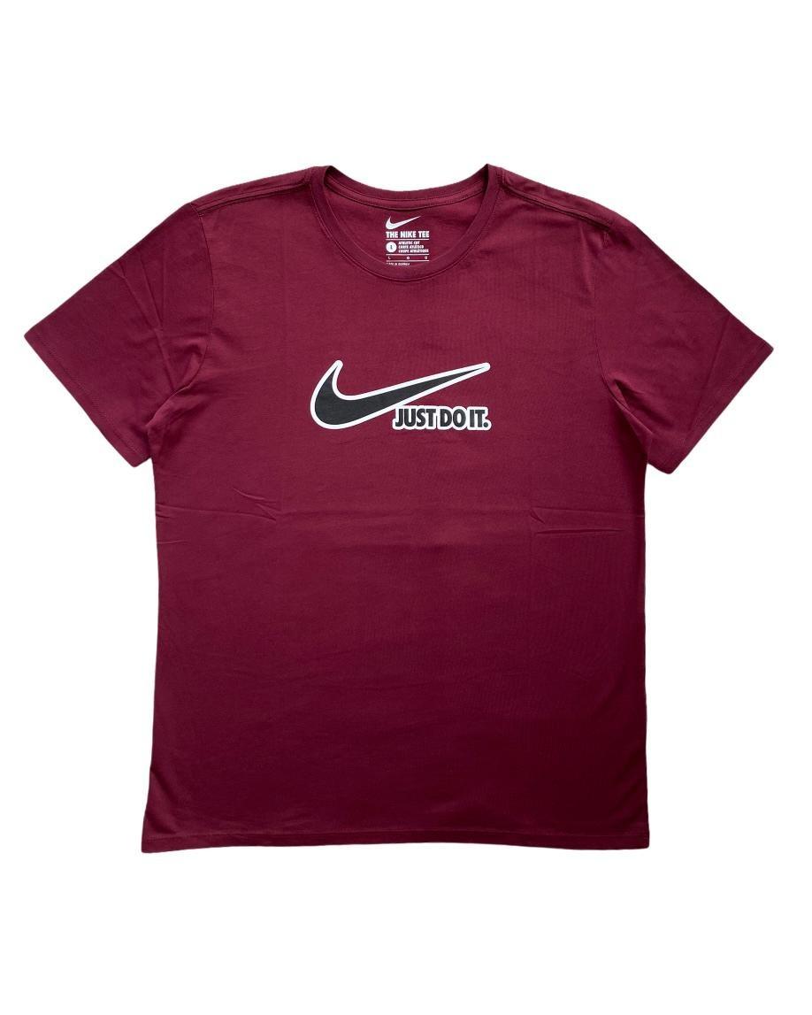 N. Just Do It Bordo T Shirt (SNI12)