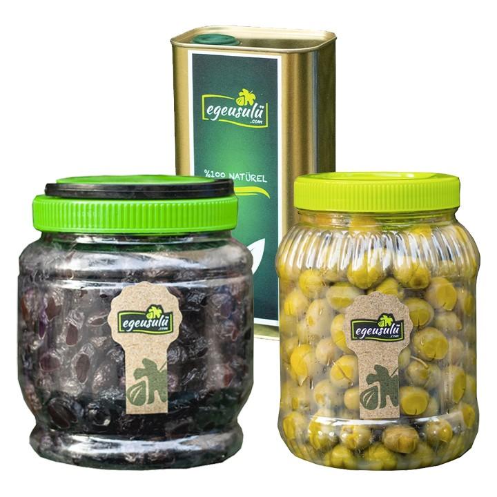 Zeytin ve Zeytinyağı Paketi