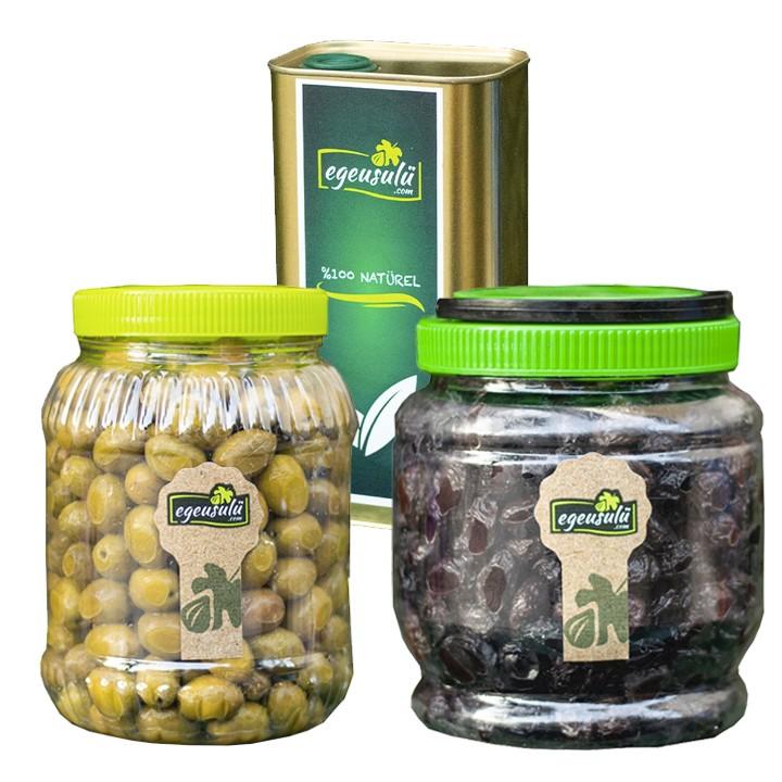 Zeytin ve Zeytinyağı Paketi (2)