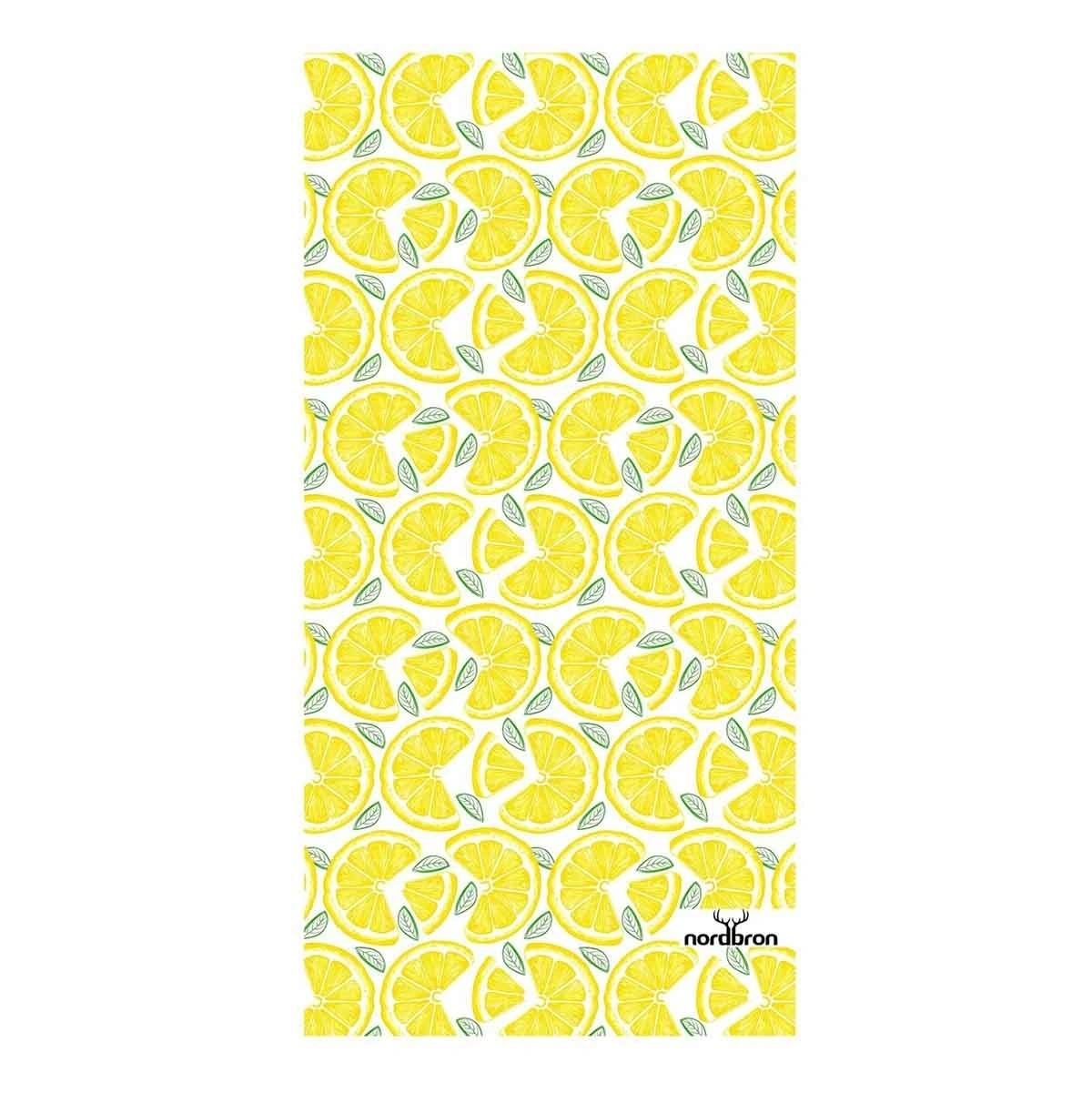 Beach Towel Lemon - Yellow Sarı Unisex Plaj Havlusu
